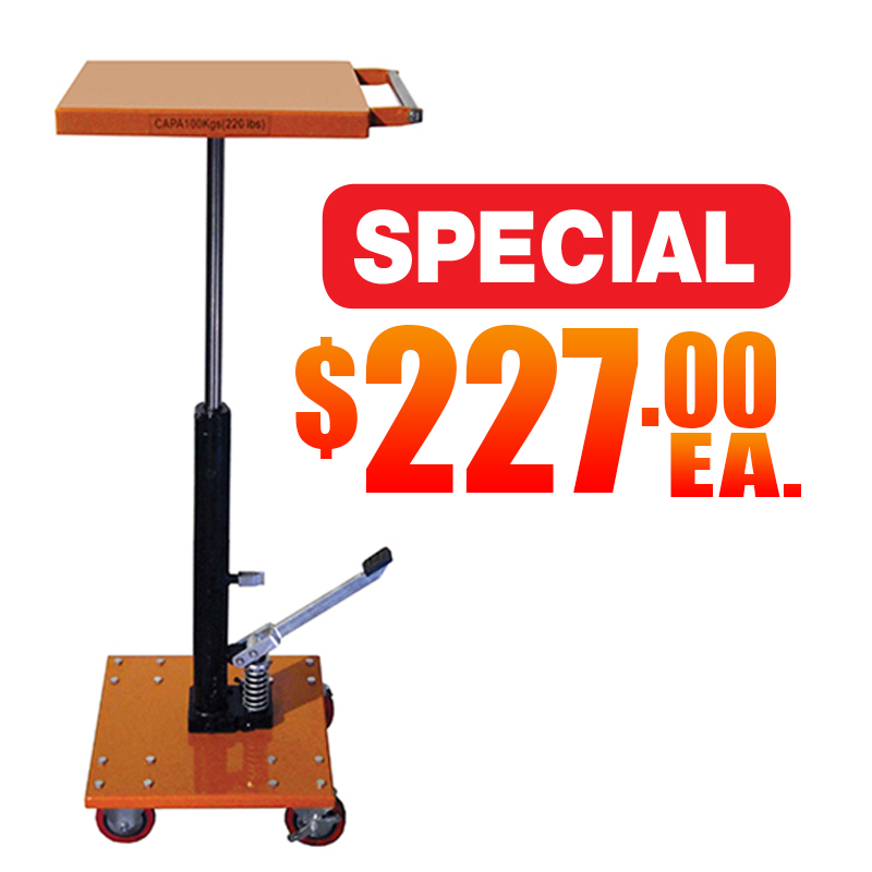 Hydraulic Post Lift Tables Sale